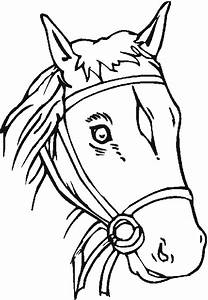 Free Coloring Pages - Horses