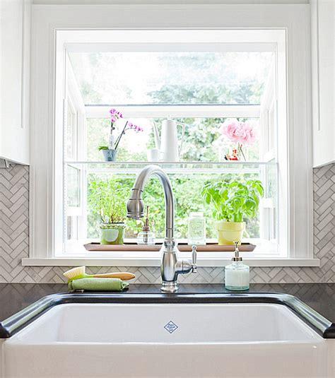 kitchen window design ideas how to style a garden window 6480