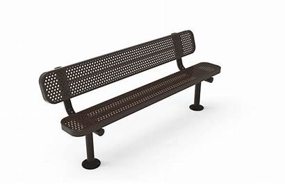 Bench Benches Thermoplastic Perforated