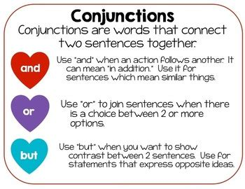 valentines day  train conjunctionscompound sentences