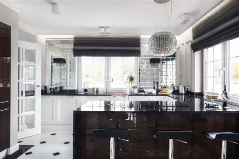 deco style kitchen deco kitchen design with glam touches digsdigs