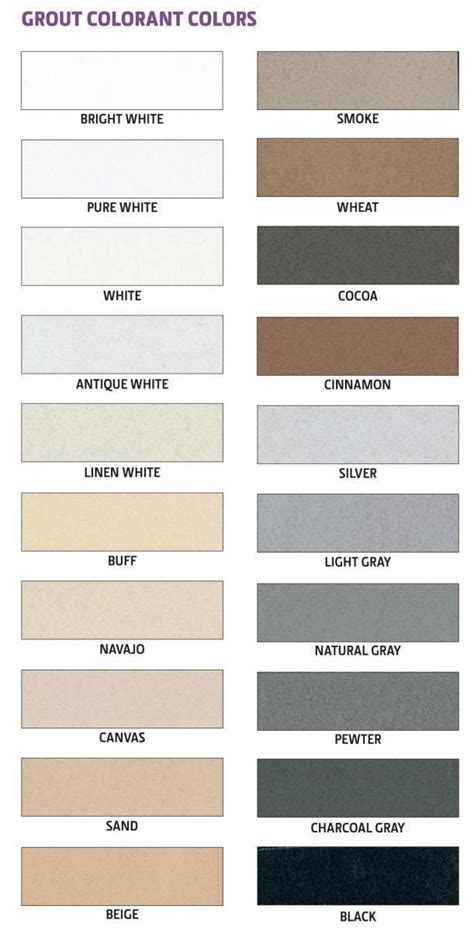 color grout best 25 grout colors ideas on tile grout