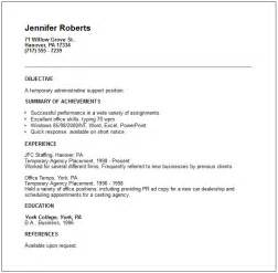 easy resume template free download public relations and human resources resume exles