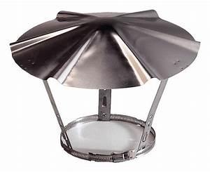 Chapeau Inox Pour Tubage : chapeau en inox 190 220 mm brico d p t ~ Edinachiropracticcenter.com Idées de Décoration
