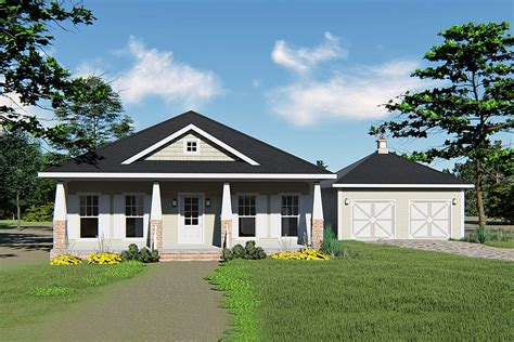 level craftsman house plan  screened porch dh architectural designs house plans