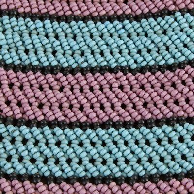 daxdesigns bead art xhosa beadwork symbols  defiance