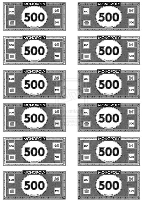 monopoly money   leighboi  deviantart