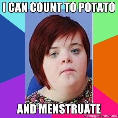 Count To Potato Meme - she grew up and found all the facebook pages using her image i can count to potato know