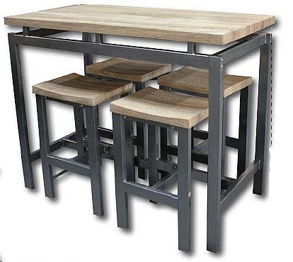 table de cuisine haute pas cher table haute tabouret cuisine cuisine en image