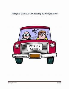 A Guide To Choosing Your Driving School
