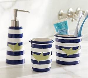 bought this toothbrush holder for boys shark bath With shark bathroom accessories