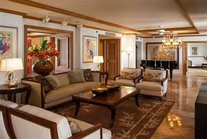 Hospitality - Wailea Resort Hotel - Tropical - Living Room