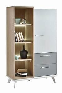 Meuble Rangement Gris : meuble rangement sejour maison design ~ Teatrodelosmanantiales.com Idées de Décoration