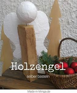 Engel Selber Basteln : weihnachts engel aus holz und gips ~ Lizthompson.info Haus und Dekorationen
