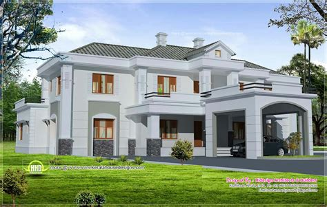 colonial luxury house plans luxury colonial style home design with court yard home