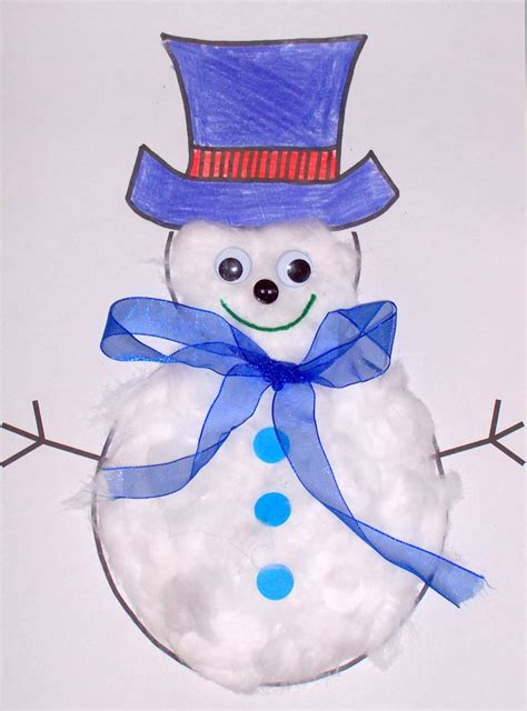 15 and easy craft ideas for miss lassy 973 | snowman christmas craft
