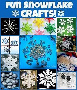 12, Beautiful, Snowflake, Craft, Ideas