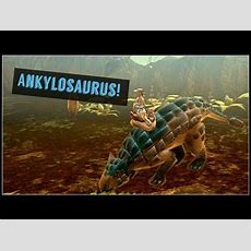 New Dinosaur Ankylosaurus!  Dino Storm Youtube