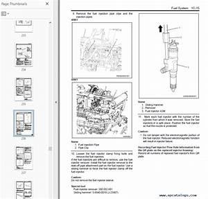 New Holland Isuzu Kobelco 4hk1  U0026 6hk1 Service Manual Download