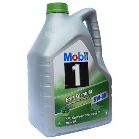 mobil 1 esp formula 5w 30 5l produkten kunde inte hittas