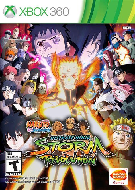 Naruto Shippuden Ultimate Ninja Storm Revolution Xbox