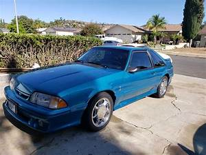 3rd generation 1993 Ford Mustang Cobra V8 5spd manual For Sale - MustangCarPlace
