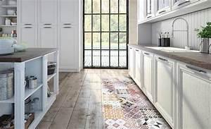 Tapis Cuisine Carreaux Ciment : sympas les tapis vinyle carreaux de ciment beija envie d 39 int rieur clermont home ~ Carolinahurricanesstore.com Idées de Décoration