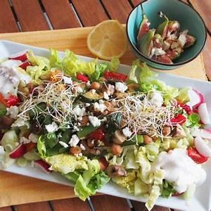 Salat Mit Zucchini : salat mit kichererbsen zucchini und feigen ~ Lizthompson.info Haus und Dekorationen