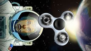Would a fidget spinner spin forever in space?
