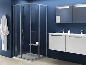 Schiebetür 80 Cm : eckdusche schiebet r 80 x 80 x 185 cm duschabtrennung dusche eckeinstieg duschkabine eckeinstieg ~ Markanthonyermac.com Haus und Dekorationen