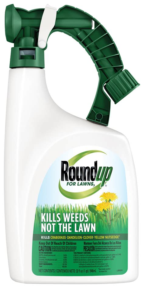 Roundup® For Lawns  Northern Ready To Spray Roundup