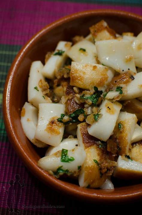 cuisiner des seiches 1000 idées sur le thème tapas espagnoles sur