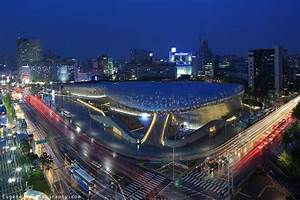 File:Dongdaemun Design Plaza at night, Seoul, Korea.jpg ...