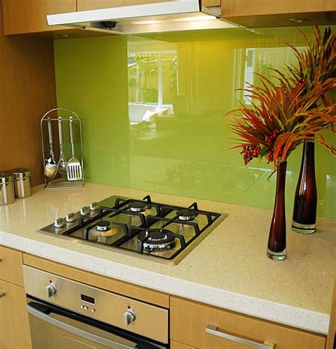 green glass tiles for kitchen backsplashes 7 ideas for backsplash materials you can install in your kitchen house crazy