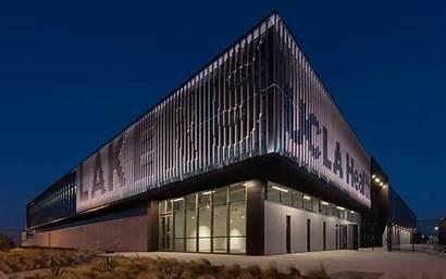 Center Training Ucla Health Exterior Rossetti Architecture