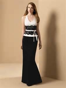 black dresses for bridesmaids black and white bridesmaid dresses