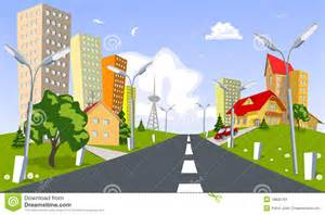 green architecture house plans vector city summer stock image image 18636761