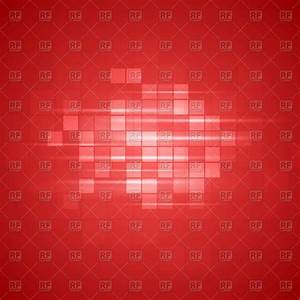 Red tech background with squares Royalty Free Vector Clip ...