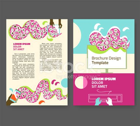 Computer Science Flyer Editible Template flyer leaflet booklet editable design template a4 two