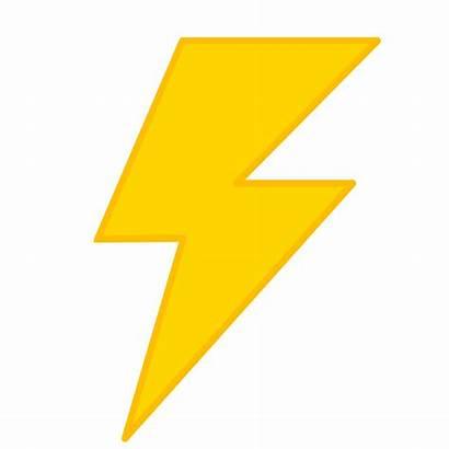 Lightning Clip Onlinelabels Svg