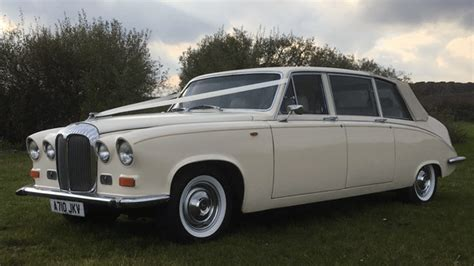 Wedding Car Hire East by Classic Daimler Ds420 Limousine Wedding Car Hire East