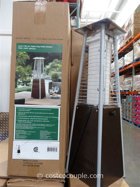 electric patio heater costco 34 inch table top patio heater