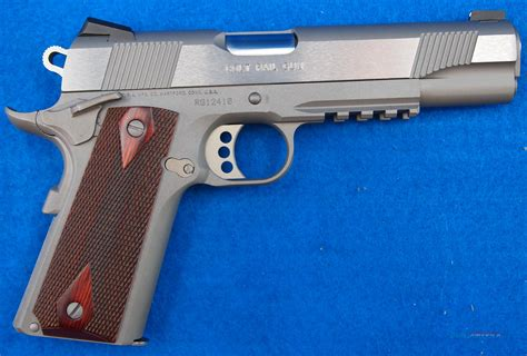 Colt Government Model Stainless 45 Acp Model O For Sale