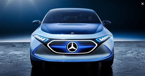 mercedes benz eqa electric crossover spied
