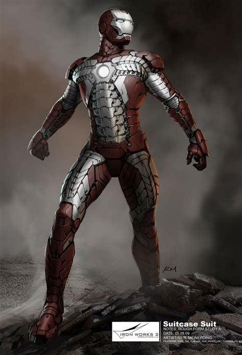 marvel concept art iron man 2 ryan l facey