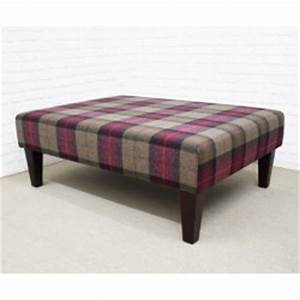 upholstered footstools footstool coffee table square With rectangular coffee table with stools