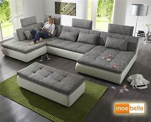 Couch Mit Großer Liegefläche : big sofa mit bettfunktion besonderes sofa testsieger ~ Bigdaddyawards.com Haus und Dekorationen