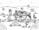 Pioneer Coloring Pages Handcart Pioneers 2bpioneer 2bfamily Children Robin sketch template