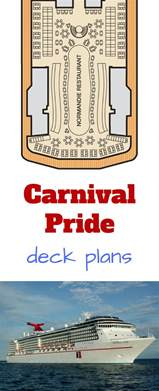 carnival pride deck plans cruise radio