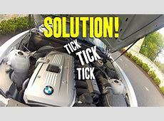 The INFAMOUS BMW Lifter Tick Ticking Noise E90, E92